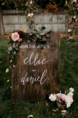 Fall wedding decoration idea with inspiring autumn decoration and fall flowers design Part 63