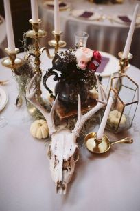 Fall wedding decoration idea with inspiring autumn decoration and fall flowers design Part 75