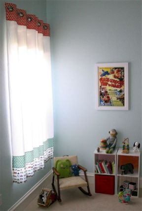Inspiring Kids Room Design with Best Curtain Ideas Part 6