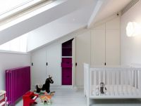 Modern Baby Nursery Rooms Ideas with Simple and Colorful Concepts with Pattern and Unique Baby Crib Design Part 12