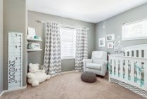 Modern Baby Nursery Rooms Ideas with Simple and Colorful Concepts with Pattern and Unique Baby Crib Design Part 35