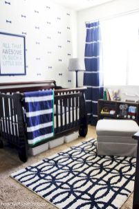 Modern Baby Nursery Rooms Ideas with Simple and Colorful Concepts with Pattern and Unique Baby Crib Design Part 53