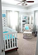 Modern Baby Nursery Rooms Ideas with Simple and Colorful Concepts with Pattern and Unique Baby Crib Design Part 65