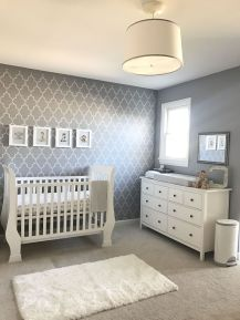 Modern Baby Nursery Rooms Ideas with Simple and Colorful Concepts with Pattern and Unique Baby Crib Design Part 69