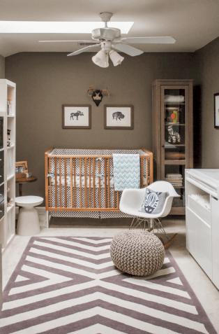Modern Baby Nursery Rooms Ideas with Simple and Colorful Concepts with Pattern and Unique Baby Crib Design Part 7