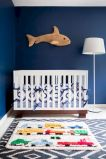 Modern Baby Nursery Rooms Ideas with Simple and Colorful Concepts with Pattern and Unique Baby Crib Design Part 77