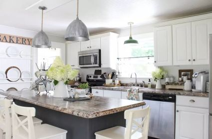 Modern Farmhouse Kitchens Inspirations Part 16