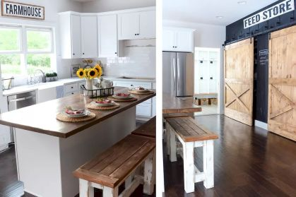 Modern Farmhouse Kitchens Inspirations Part 27