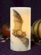 Mystical Halloween Lighting Ideas with Spellbinding candle and light string effect Part 25