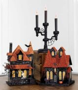 Mystical Halloween Lighting Ideas with Spellbinding candle and light string effect Part 26