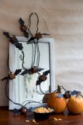 Mystical Halloween Lighting Ideas with Spellbinding candle and light string effect Part 27