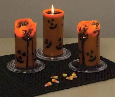 Mystical Halloween Lighting Ideas with Spellbinding candle and light string effect Part 64
