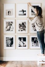 Simple image and Arrangement Tips to Make your Own Gallery Wall Ideas Part 15