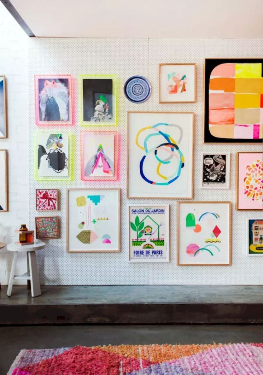 Simple image and Arrangement Tips to Make your Own Gallery Wall Ideas Part 22