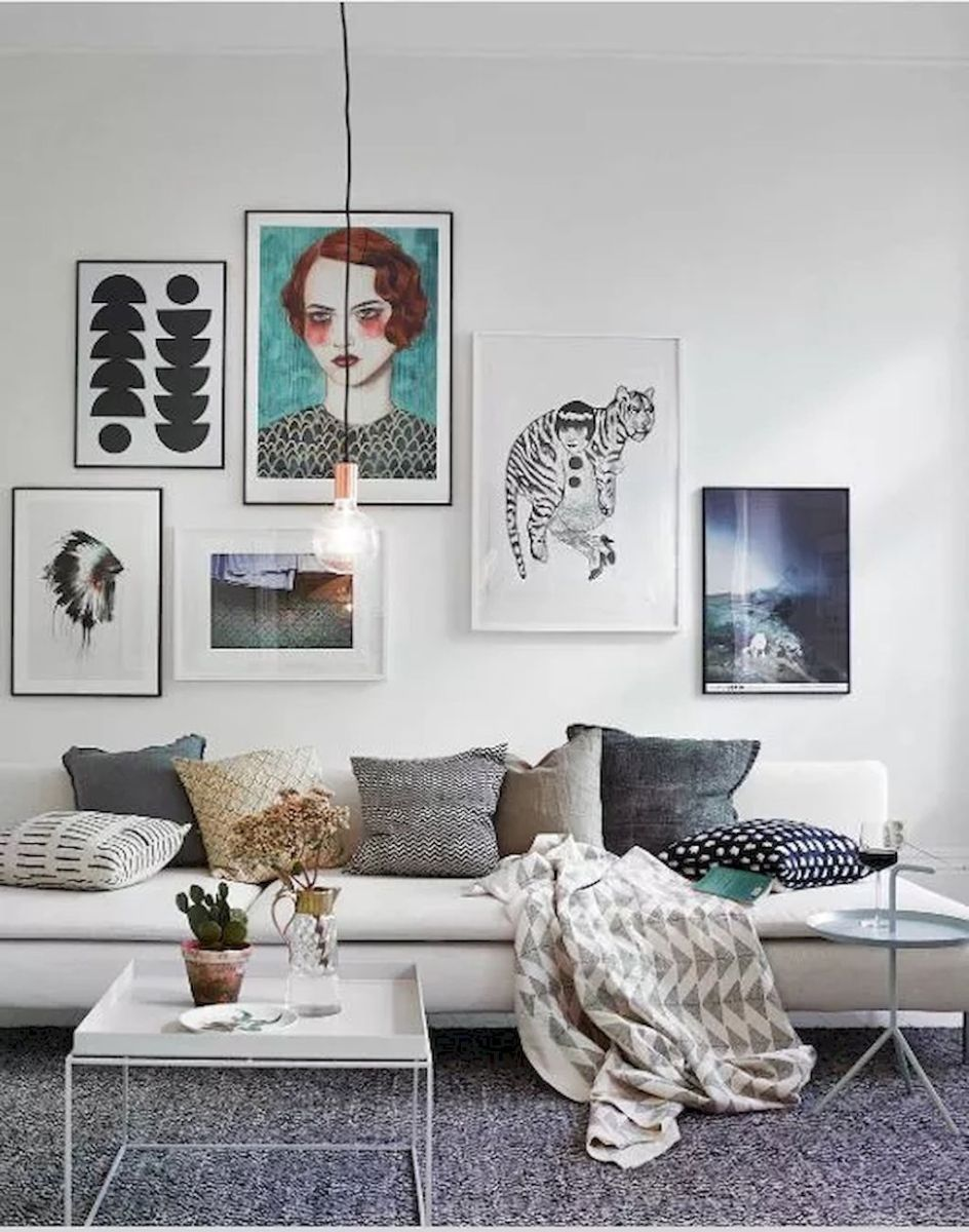 Simple image and Arrangement Tips to Make your Own Gallery Wall Ideas Part 26