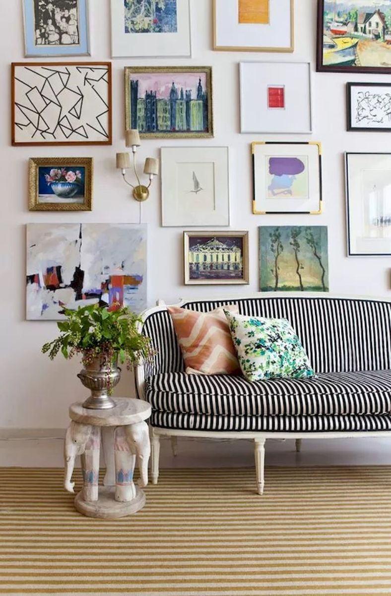 Simple image and Arrangement Tips to Make your Own Gallery Wall Ideas Part 5