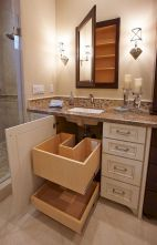 Small bathroom organization Ideas that will add more spaces during relaxation Part 7