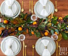 Thanksgiving Celebration Dining Table Centerpieces Idea Part 29