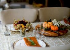 Thanksgiving Celebration Dining Table Centerpieces Idea Part 30