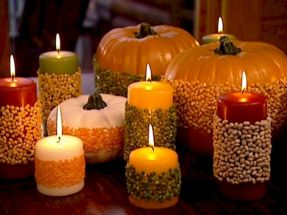 Thanksgiving Celebration Dining Table Centerpieces Idea Part 32