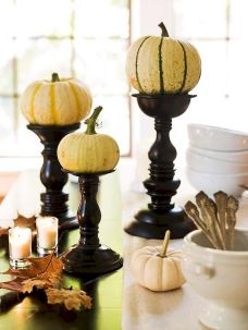 Thanksgiving Celebration Dining Table Centerpieces Idea Part 38
