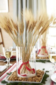 Thanksgiving Celebration Dining Table Centerpieces Idea Part 65