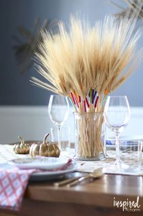 Thanksgiving Celebration Dining Table Centerpieces Idea Part 8
