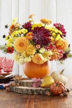 Thanksgiving Floral Arrangement Ideas and Autumn Flowers Decoration Best Used for Thanksgiving centerpiece and Decorations Part 5