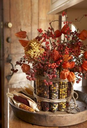 Thanksgiving Floral Arrangement Ideas and Autumn Flowers Decoration Best Used for Thanksgiving centerpiece and Decorations Part 9