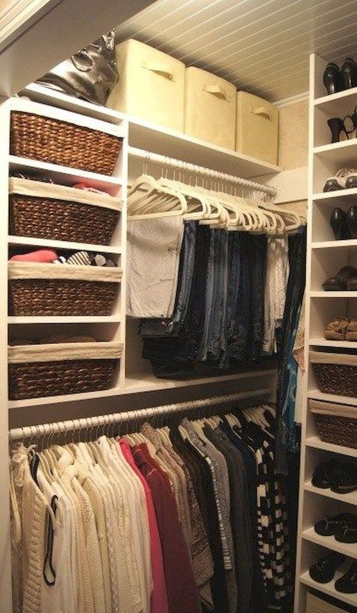 Easy Closet Organization Ideas to Add More Space Part 11