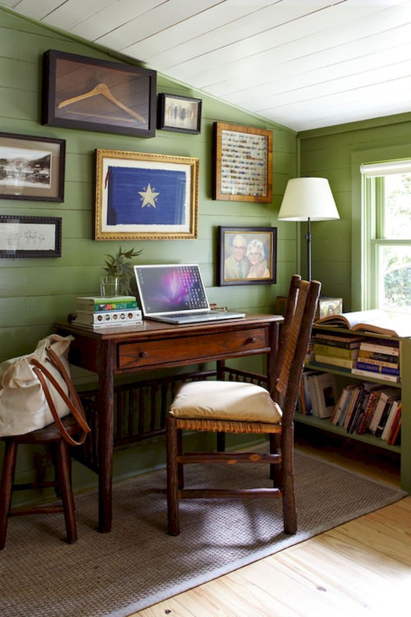 Farmhouse Home Office Decoration Ideas Part 21