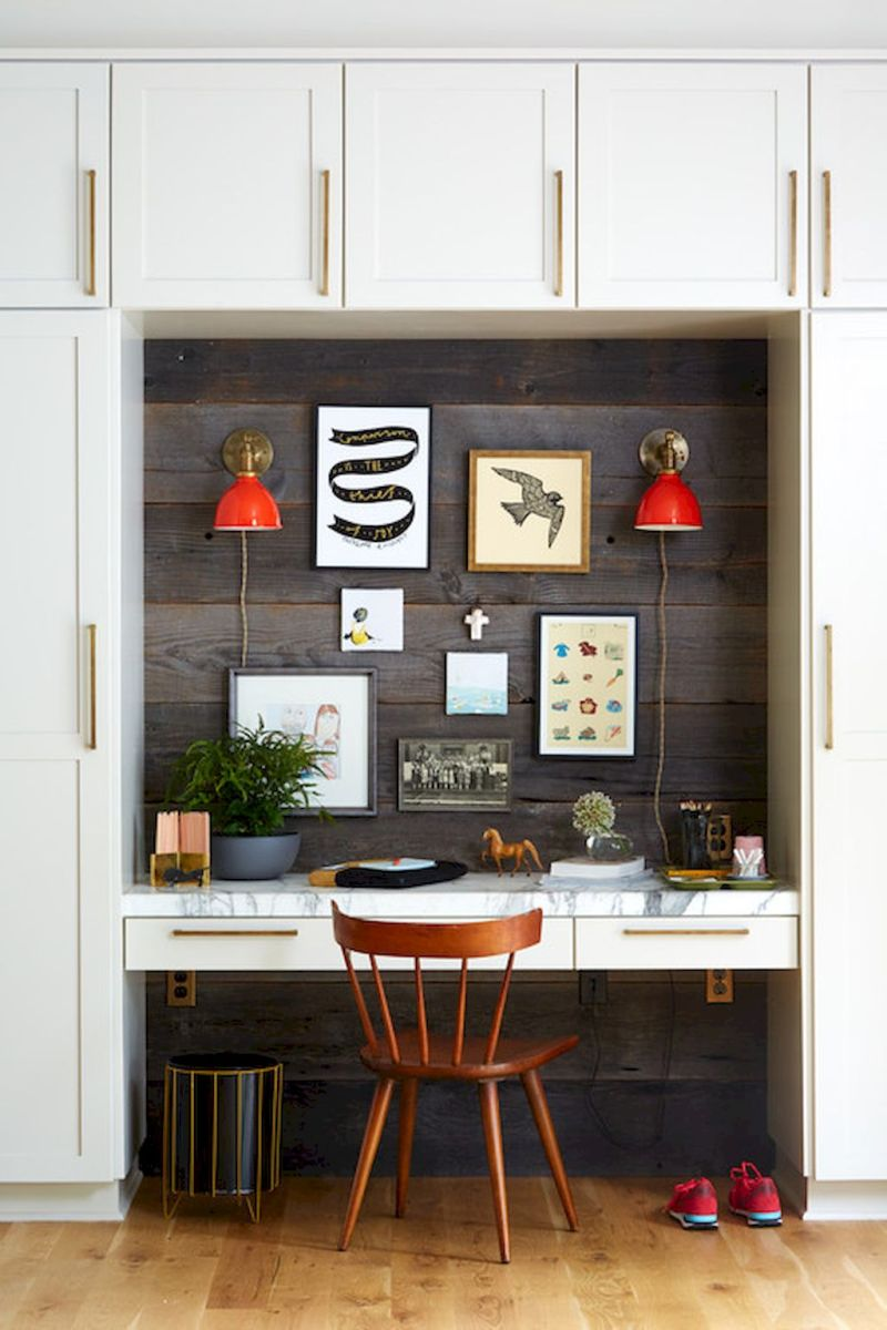 Farmhouse Home Office Decoration Ideas Part 22
