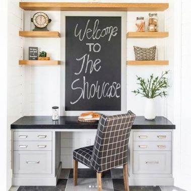 Farmhouse Home Office Decoration Ideas Part 23