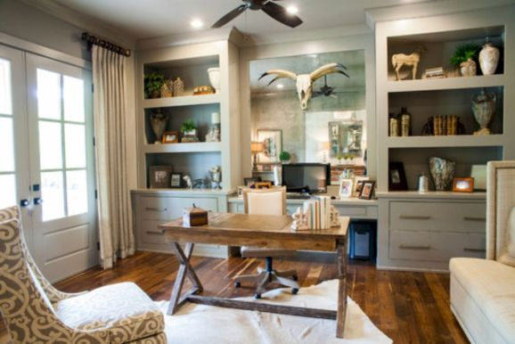 Farmhouse Home Office Design Part 31
