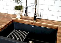 Farmhouse Kitchen Sink Ideas for Large Kitchen Part 5
