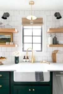 Inspiring Farmhouse Kitchen Sink for New Kitchen and Remodel Part 20