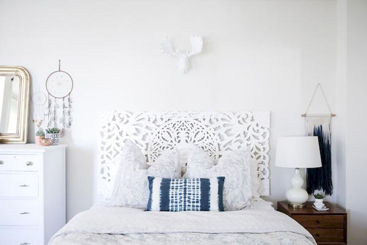 Most Wanted White Bedroom Decorating Ideas in Classy Finish Part 10