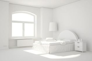 Most Wanted White Bedroom Decorating Ideas in Classy Finish Part 16