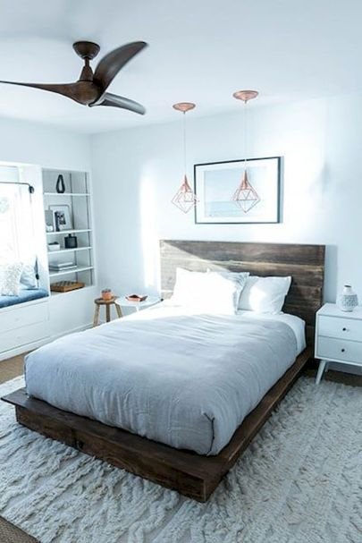 Platform Bed Ideas in Modern Design with Multi Functions Part 19