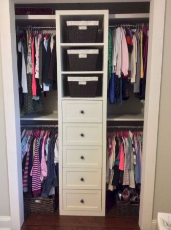 Smart Closet Organization Ideas to Make Extra Storage Part 37