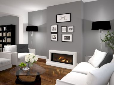 Accent Wall Ideas for Your Stylish Living Room Part 1
