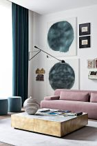 Accent Wall Ideas for Your Stylish Living Room Part 13