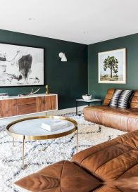 Accent Wall Ideas for Your Stylish Living Room Part 8