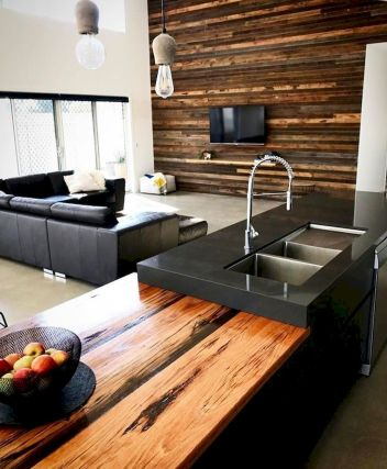 Best Modern Kitchen with Beautiful Wooden accent Part 22