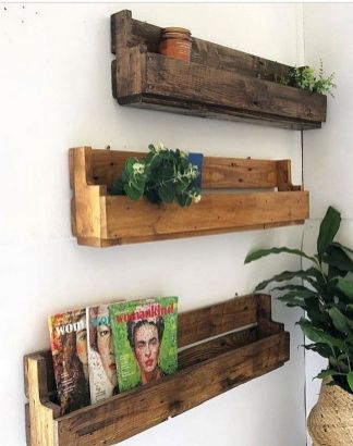 DIY scrap Wood Ideas for Wall Decoration Part 37