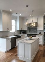 Effective Neutral Colors For Beautiful White Kitchen Concept Part 11