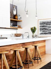 Exotic Kitchen Concept with Stylish Wooden Touch Part 31
