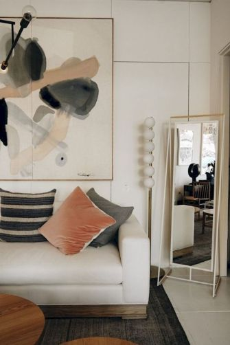 Genius wall accent decoration to liven up your home vibes Part 37