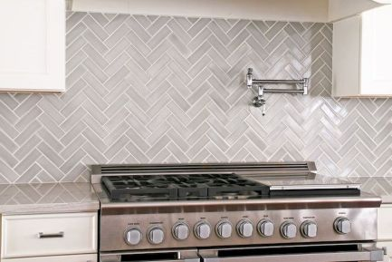 Grey Kitchen Designs With Exciting Kitchen Backsplash Trends Part 15