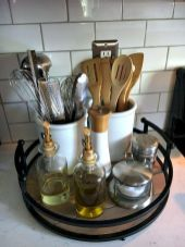 Inspiring Kitchen Organization and Storage Ideas to Make the Kitchen Looks Neater Part 29